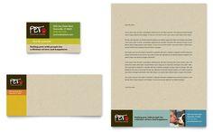 Animal Shelter & Pet Adoption - Business Card & Letterhead Template Design