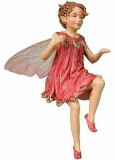 Retired Cicely Mary Barker Totter-Grass Flower Fairy Ornament Figurine | eBay