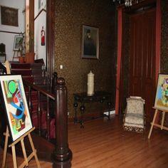 """""""ARTE"""", exposição de trabalhos de pintura de utentes do Centro de Paralisia, para ver até final do mês de fevereiro. #arte #beja #cpcb"""