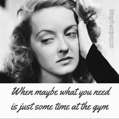 We've all been there: upset and caught in a loop of despair. You feel like this photo of Bette Davis. You drop on the bed and obsess. Or worse, go on a binge—eating, drinking, or wors…