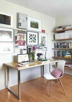 Look at all the books... Fjeldborg | Dream Home | Pinterest ... Workspace Office Kitchen Ideas on kitchen microwave ideas, kitchen office organization ideas, kitchen space ideas,