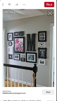 Little Bits of Home: Hallway Gallery Wall Love how they framed light switch and thermostat. Little Bits of Home: Hallway Gallery Wall Love how they framed light switch and thermostat. Diy Casa, Home And Deco, Cheap Home Decor, Cute Home Decor, Decoration Home, Frame Decoration, Exterior Decoration, Cheap Wall Decor, House Design