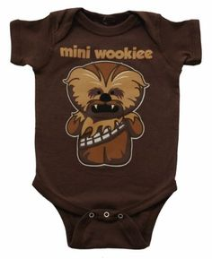Star Wars Mini Wookiee Chewbacca Mini Fine Movie Baby Creeper Romper Snapsuit by unisexbabyclothings Star Wars Baby Clothes, Baby Kids Clothes, Kids Clothing, Newborn Clothing, Chewbacca, Disfraz Wonder Woman, Baby Boy Outfits, Kids Outfits, Everything Baby