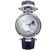 Jewellery designer Ilgiz F and watchmakers Bovet 1822 come together to create a series of unique painted enamel watches
