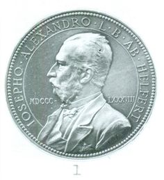 Helfert, Josef Alexander von (1820-1910), collector of items celebrating famous people; medal by Anton Scharff (Koch NZ 1971 pl. 23, 1)
