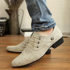 New Korean men's wee man's slope with increasing leisure shoes fashion shoes trends Europe and England tide shoes