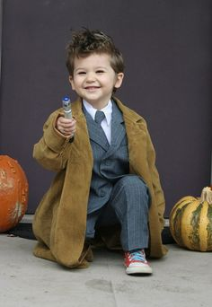 Dr. Who costume- 4th Annual Modern Kiddo We Love Homemade Costumes Parade! | Modern Kiddo