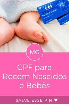 Cadastro de pessoa fisica | CPF para Recém Nascidos e Bebês