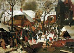 brueghel, adorazione dei magi, 1600, venezia, museo correr