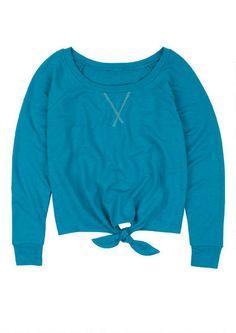 Tie Front - Sweatshirts - Sale - dELiA*s