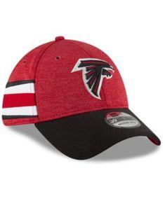 c3579d5121e New Era Atlanta Falcons On Field Sideline Home 39THIRTY Cap - Red Black L XL