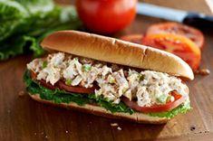 Tuna Salad Sub Sandwiches recipe