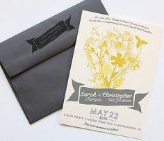 wildflower invites