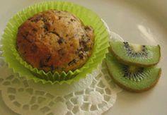 muffin al kiwi  da www.kigaportal.com Kiwi, Muffin, Cupcakes, Breakfast, Food, Food Food, Morning Coffee, Cupcake Cakes, Essen