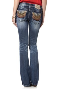 Solar Flare Boot Cut Jeans