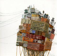 ciudad, en un equlibrio al limite de sus capacidades y virtudes