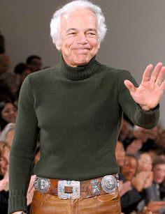ralph lauren-Isn't my favorite designer but I have to say, he knows how to make simple yet classy clothes. Lauren Hutton, Ralph Lauren Style, Polo Ralph Lauren, Best Fashion Designers, Cool Style, My Style, Kinds Of Clothes, Couture Fashion, Street Style