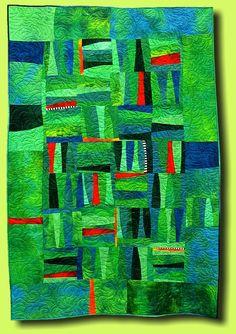 """""""Grüne Freiheit"""" 2009 (Green Freedom) by Regina Grewe (Germany):"""