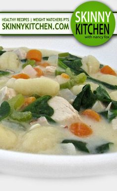 1000 Images About Skinny Soups First And Main Course On Pinterest Weight Watcher Points