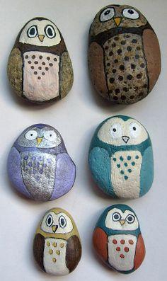 Painting Animals Rocks Free Patterns | Painting Rock & Stone Animals, Nativity Sets & More: Free Rock ...