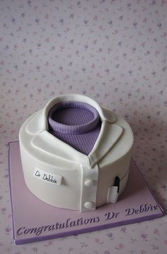 Congratulations Cake for Dr Debbie | Flickr - Photo Sharing!