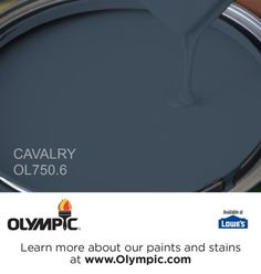 CAVALRY OL750.6 is a part of the blues collection by Olympic® Paint.
