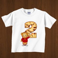 Daniel Tiger Iron On Image, Daniel Tiger Party Sign, Daniel Tiger Birthday Printables on Etsy, $4.99