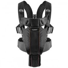 BabyBjorn #Baby #Carrier Miracle Mesh Black. It has an adjustable waist belt that transfers most of your child's weight to your hips, which means that you can carry older babies for longer periods.