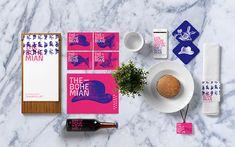 Quim Marin – Identity for The Bohemian Restaurant & Coffee Lounge, Irún, Spain Corporate Identity Design, Brand Identity Design, Branding Design, Branding Ideas, Food Branding, Visual Identity, Bohemian Restaurant, Tapas, Restaurant Branding