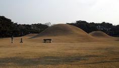 Five Tomb complex of Silla