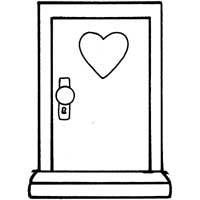 Door Coloring Page Coloring Pages Pokemon Coloring Pages Disney Coloring Pages