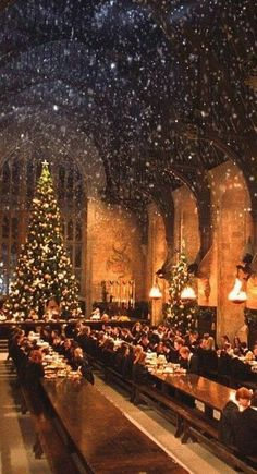 Hogwarts Christmas Wall Paper 19 Ideas For 2020 Harry James Potter, Harry Potter Feels, Harry Potter Tumblr, Natal Do Harry Potter, Arte Do Harry Potter, Harry Potter Christmas, Hogwarts Christmas, Wallpaper Harry Potter, Harry Potter Artwork