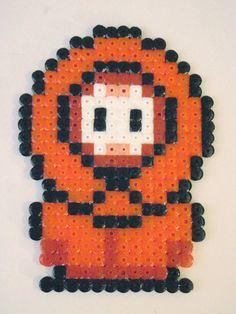Kenny perler beads by RobinBusto on deviantart