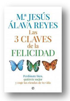 Interesante cita mañana 28/03(Madrid) con la psicóloga Mª Jesús Álava Reyes.Presenta su #libro 'Las tres claves de la felicidad'