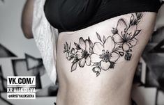 #tattoo #blacktattooart #blacktattoo #tattoogirl #flowertattoo #flowergram #blacktattoo