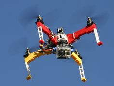 Drones built from LEGO® Bricks by GenCode Systems, Inc. - A Kickstarter for LEGO quadcopter kits / frames
