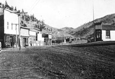 Old ghost town of Bonanza Colorado. Picture #1 - Then and Now Images - ADVrider