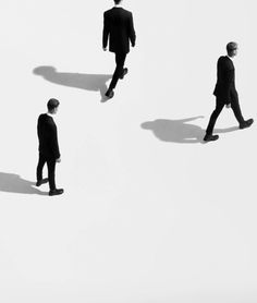 minimal fashion photography by Paul Jung. Paul Jung, The Man From Uncle, Photo Portrait, The Secret History, White Aesthetic, Minimal Fashion, Black And White Photography, Art Direction, Illustration