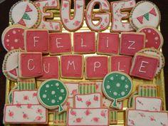 Azahar: ♥ Cookies cumpleaños de mi hermana ♥