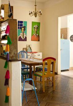 Naifandtastic:Decoración, craft, hecho a mano, restauracion muebles, casas pequeñas, boda: Muebles recuperados en una casa con mucho encanto...
