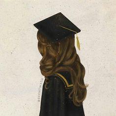 Alhmdullilah I am a graduate today ! Alhmdullilah I passed ! Graduation Picture Poses, Graduation Pictures, Girl Cartoon, Cartoon Art, Sarra Art, Best Friend Drawings, Girly M, Illustration Mode, Illustrations