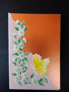 Perkomano på ett guld kort, gjort av Cornelia