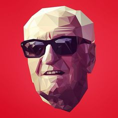 Enzo Ferrari portrait. Using a geometric style #car #ferrari #enzo #enzoferrari #enzoferrarimuseum #supercars #italy #italia #italian #creative #art #tintop #icon #iconic #legend