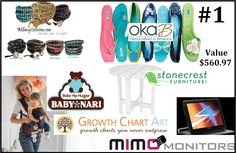 Mega Giveaway - 5 Winners (5/22) - Total Prizes are worth over $1600! Prizes for mom and child! Look at all the photos!
