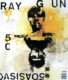 Ray Gun : While the contents of its pages were not related to graphic design, Ray Gun magazine proved to be an exploration of typography, layout and visual storytelling that would shift the approach of many graphic designers. The magazine was founded in 1992 and led by the work of David Carson, who served as its art director for the first three years of its career, which lasted 7 years and over 70 issues.