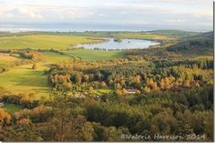 Loch-Kindar, from the Waterloo-Tower,  New Abbey, Dumfries and Galloway ©Valerie Harrison 2014