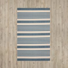 You'll love the Courtyard Grantham Navy/Beige Outdoor Area Rug at Wayfair - Great Deals on all Décor  products with Free Shipping on most stuff, even the big stuff.