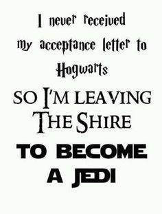 Harry Baggins, Jedi Knight :P