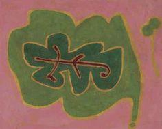 Paul Klee (Swiss, 1879-1940), Blatt [Leaf], 1937. Oil on canvas, 26 x 32.5 cm.