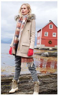 Chateau Parka-J Crew-Norway-Lookbook